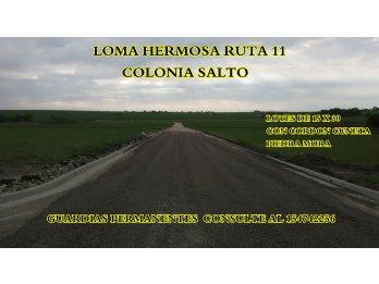 URBANIZACION LOMA HERMOSA RUTA 11 KM 23