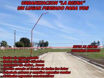 LOTEO LA REINA , COLONIA ENSAYO , AMPLIOS 643 M2