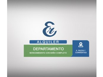Alquiler - A. Pazos y Corrientes