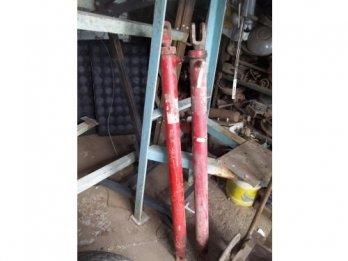 Un cilindro hidráulico