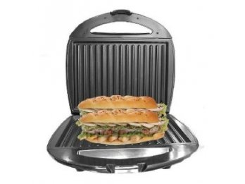 Sandwichera Electrica Tostadora Pan Antiadherente Winco W017