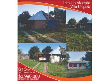 VENDO Lote 4 con viviendo - Villa Urquiza