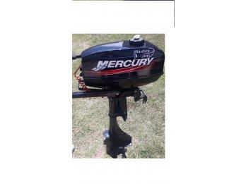 SOLO VENDO Impecable Mercury 3.3 hp solo 3 hs de uso