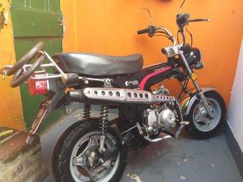 vendo moto unico dueño