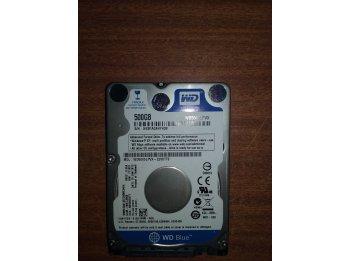 Disco rigido para notebooks 500gb Wester Digital