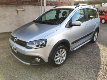 Oportunidad! VW Suran Cross 2013! 80mil kms!
