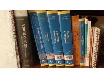 Libros de medicina, ciencias de la salud