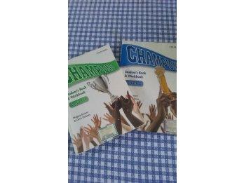 Libro Champions Ingles nivel 1 y 2