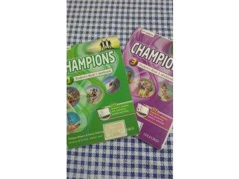 Libro Champions Segunda edición, nivel 1 y 3