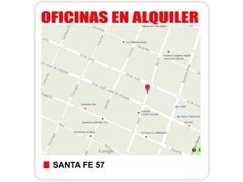 ALQUILER OFICINAS - Santa Fe 53