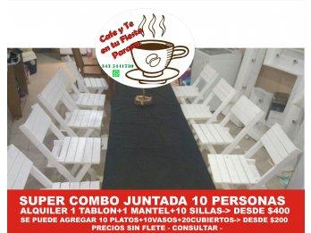 PROMO JUNTADA 10 EN TU CASA