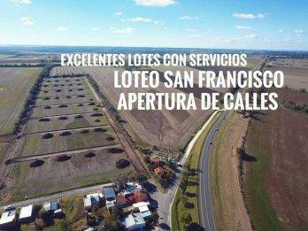 LOTEO SAN FRANCISCO EN COLONIA ENSAYO DE 250M2 DESDE $890000