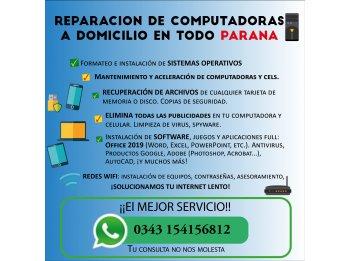REPARACION DE COMPUTADORAS Y REDES WIFI