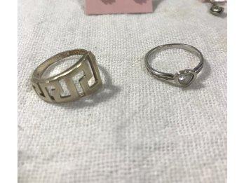 Vendo aros y anillos