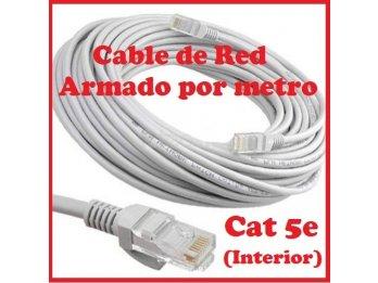 VENDO CABLE DE RED ARMADO POR METRO