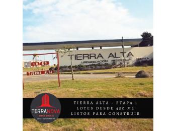 Liquido lote para construir hoy en TIERRA ALTA