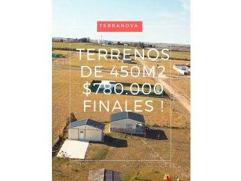 Últimos lotes para construir hoy a $780.000 - VENTA DIRECTA