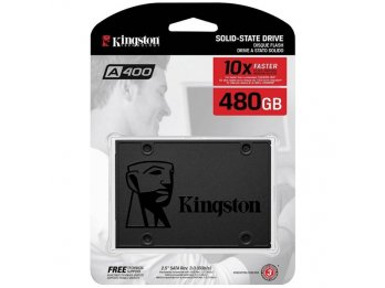 DISCO SOLIDO SSD KINGSTON A400 480Gb SATA III
