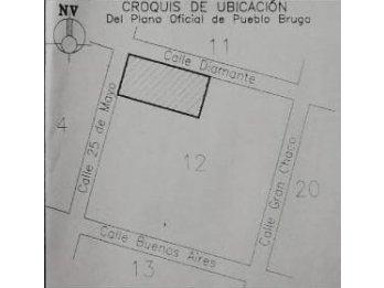 VENDO 3 Lotes contiguos en Pueblo Brugo