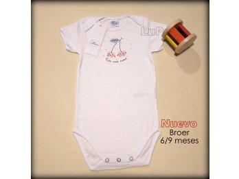 Bodys Broer nena y nene 6/9 meses