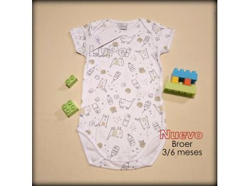 Bodys Broer 3/6 meses bebes bebas