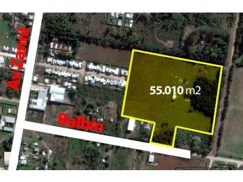 Balbin y Larralde - Venta Terreno 5,5 HECTAREAS