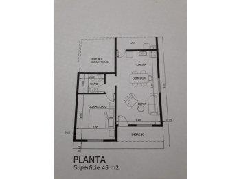 CASA 1 DOR. 45 m2 $2.340.900!!!...posibilidad expansion!