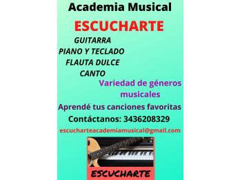 ESCUCHARTE Academia Musical