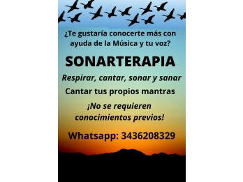 SONARTERAPIA, Terapia del Canto.