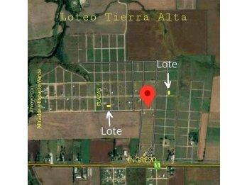 EN VENTA- LIQUIDO LOTES EN TIERRA ALTA