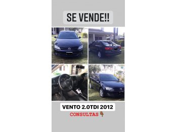 Vendo Vento Luxury 2.0 tdi 2012 140 HP full , 1ra mano