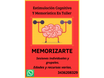 MEMORIZARTE Taller de Memoria y Estimulación Cognitiva