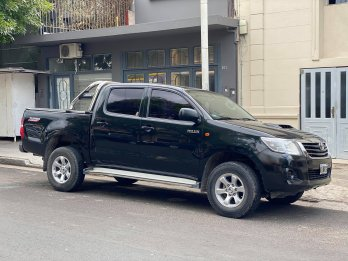Toyota Hilux 2.5 DX Pack. Recibo menor y mayor valor