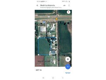 VENTA  Campito con casa acceso Norte a 100mt de la ruta