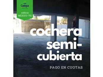 COCHERA CÉNTRICA EN VENTA (en cuotas)