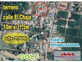 vendo terreno zona golf, Parana