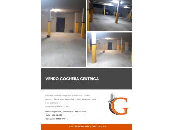 #VENDO COCHERA EN CALLE FERRE