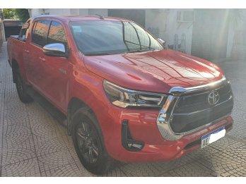 TOYOTA HILUX 4X4 SRV AUTOMATICA NUEVA LINEA 2021