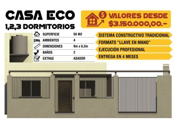 Vendo Proyecto de inversion Tipo Casa