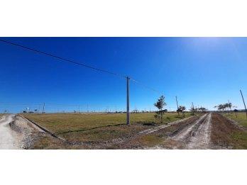 Terrenos Ruta 11 km 23 de 450m2 desde $970.000.-