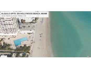 ALQUILO DPTO. EN HOLLYWOOD BEACH, MIAMI, FLORIDA.